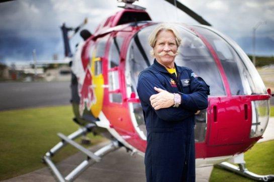 Chuck Aaron aerobatic helicopter pilot
