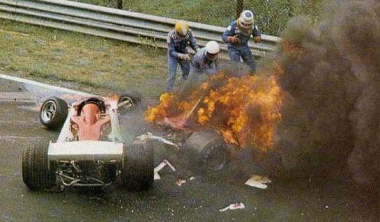 Rush_Niki Lauda crash scene