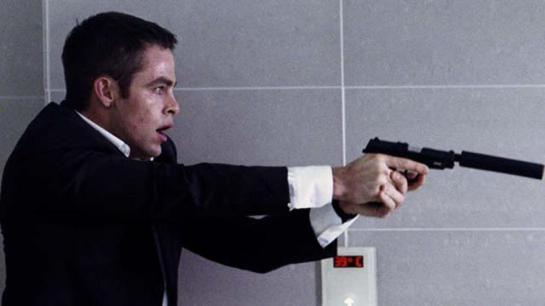 Jack Ryan gets his first kill James Bond style, in a bathroom.