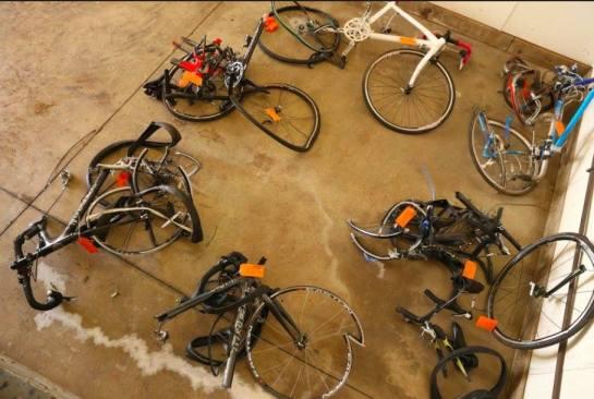 accident bikes